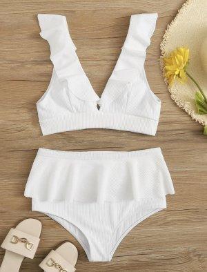 Weißer Bikini