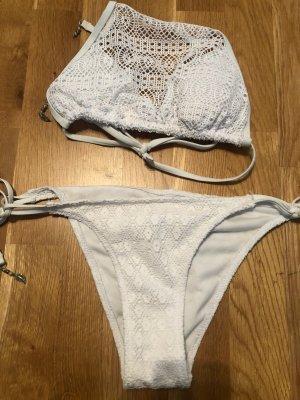 weißer Bikini Gr.36/S