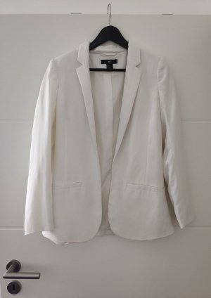 H&M Boyfriend Blazer white