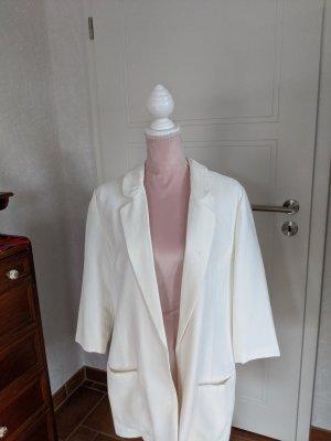 Flame Blazer long blanc polyester