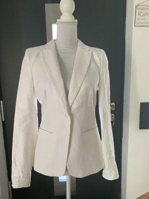 weißer Blazer (Leinen) von H&M ohne Mängel