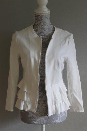 Amisu Jersey blazer wit Viscose