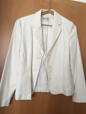 Cartoon Jersey Blazer white