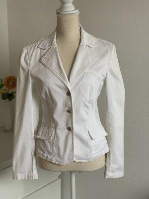 Street One Blazer en jean blanc