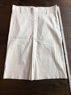 Weißer Bleistiftrock von Zara, in 36 - getragen