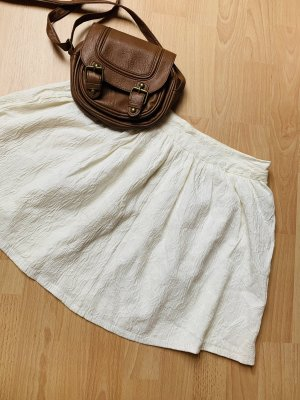 Forever 21 High Waist Skirt white