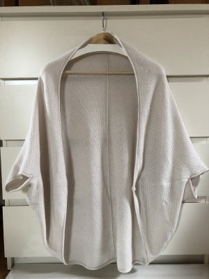 Weißer Cardigan / Strickjacke One Size