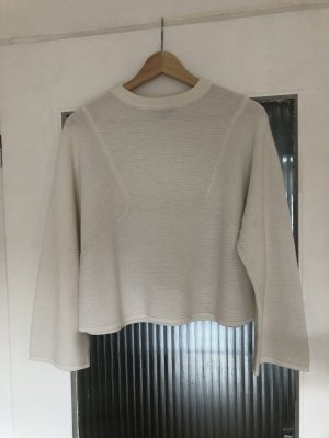 Weißer cropped Pullover Topshop Gr. S