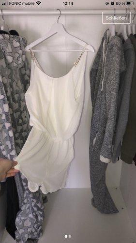 Weißer eleganter Jumpsuit