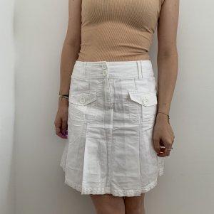 Weißer Faltenrock Esprit
