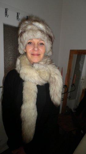 Fur Hat white-light grey pelt