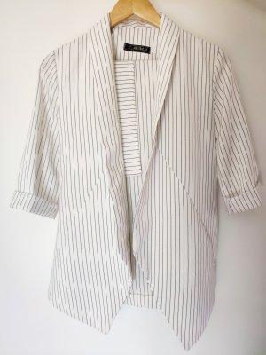 Vintage Garnitur damski biały-czarny