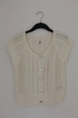 H&M L.O.G.G. Coarse Knitted Jacket natural white