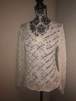 Orsay Coarse Knitted Sweater white