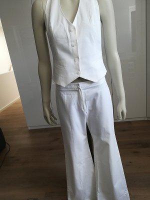 Mango Trouser Suit white