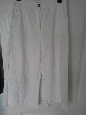 SheIn Gonna culotte bianco Cotone