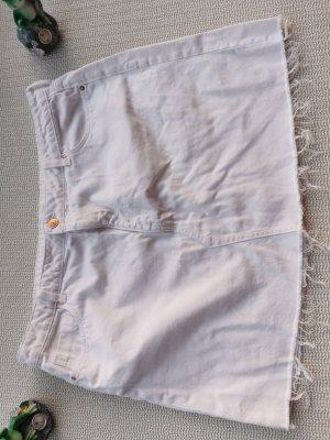 H&M Jupe en jeans blanc