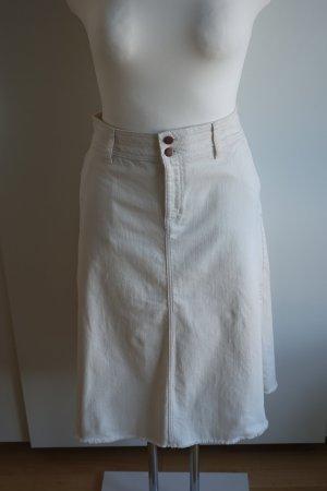 Boden Denim Skirt natural white