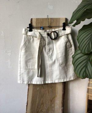 Primark Gonna di jeans bianco