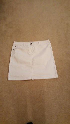 weißer Jeansrock von Cecil Gr. 48