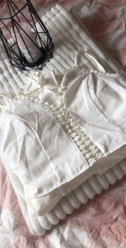 Weißer Jumpsuit (Einteiler)