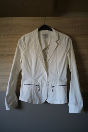 weißer Kurz-Blazer von Mitch&Co