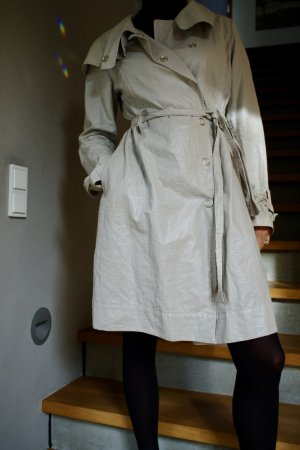 Sarah Pacini Trench Coat multicolored linen