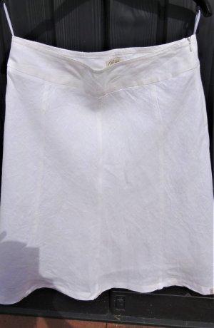 Weißer Leinenrock von Qiero