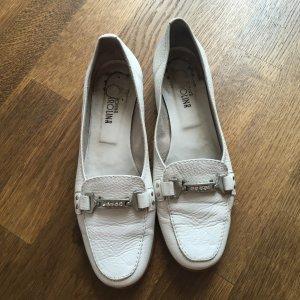 Weißer Loafer mit Glitzi :-) Gr. 39