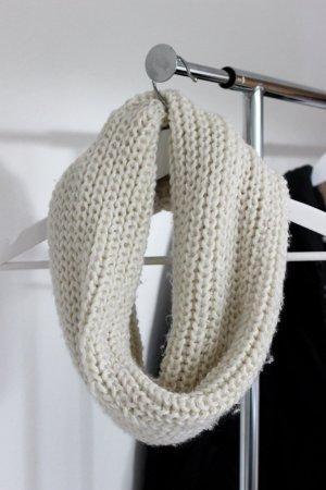 Weißer Loop Schal Schlauchschal Primark