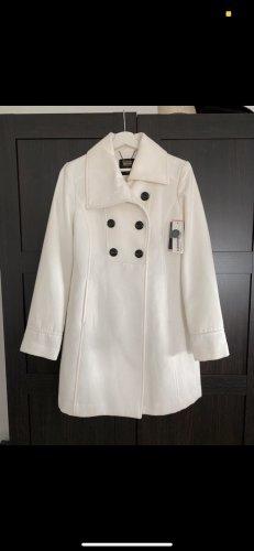 Clockhouse Krótki płaszcz biały
