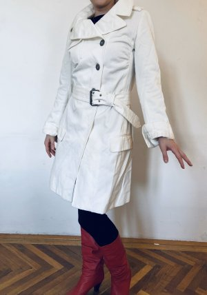 Nolita Trench bianco Cotone