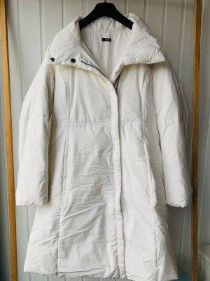 Weißer Mantel von Boss