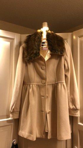 Weißer Mantel von H&M, Gr. 38