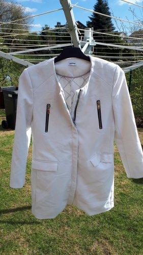 Weißer Mantel von Pimkie