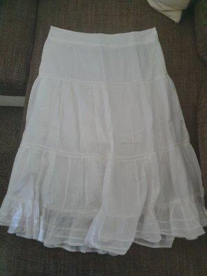 Biaggini Maxi Skirt white