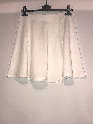 Pimkie Plisowana spódnica biały