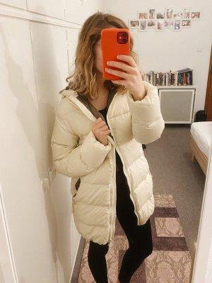 Weißer Parka Jacke von Duvetica Winterjacke Daunenjacke