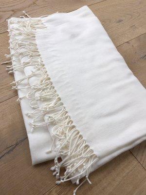 Weißer Pashmina Schal