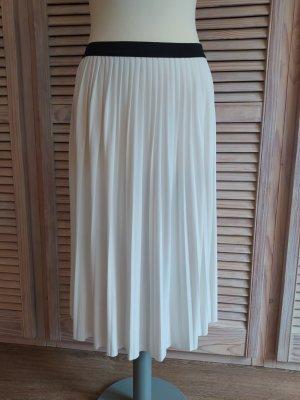 Esprit Falda plisada blanco