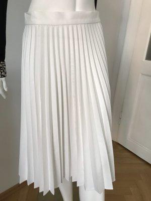 Zara Falda plisada blanco puro