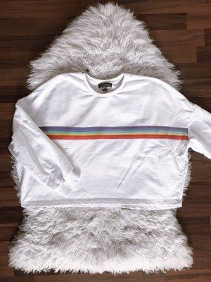 Primark Sweter z krótkim rękawem biały