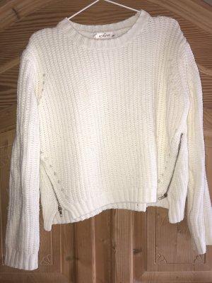 Daniel Stern Knitted Sweater cream-natural white