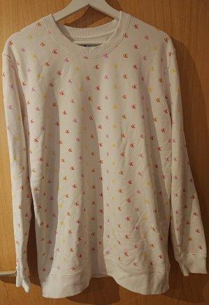 weißer Pullover Calvin Klein