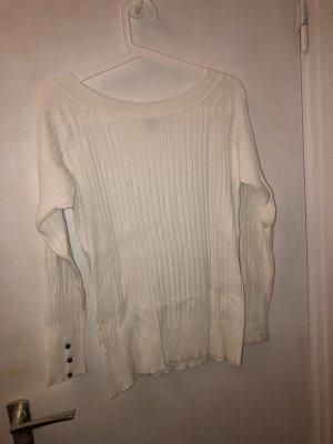 Camaieu Polarowy sweter biały