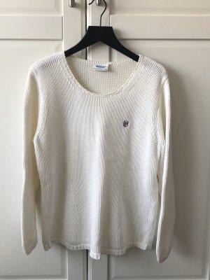 Weißer Pullover Gr. M