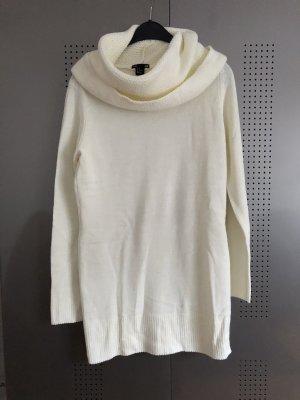 Weißer Pullover, Gr. M, H&M