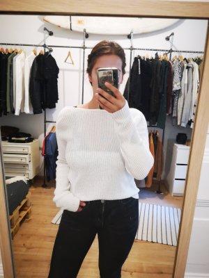 Even & Odd Pullover a maglia grossa bianco