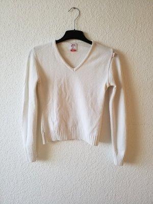 weißer Pullover Pulli von Miss Sixty. Größe S, nur wenige Male getragen