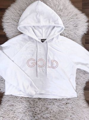 Weisser Pullover stay gold